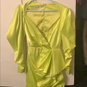 Lime House of CB Dress
